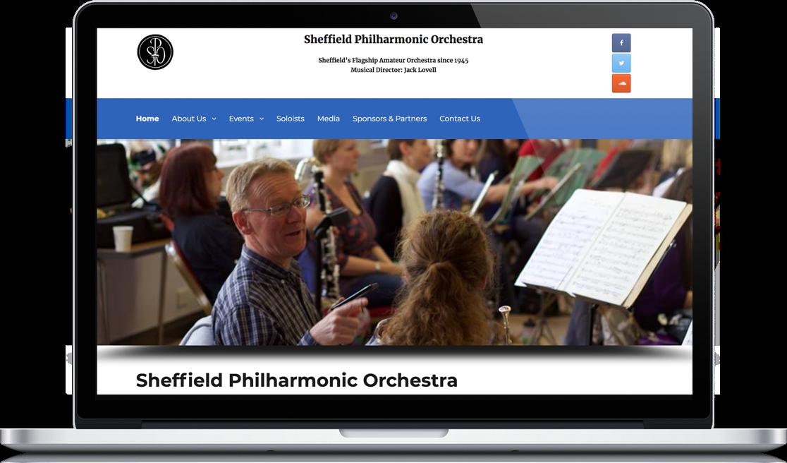 Sheffield Philharmonic Orchestra Macbook